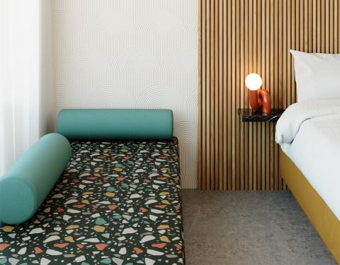 Terrazzo Room Shot